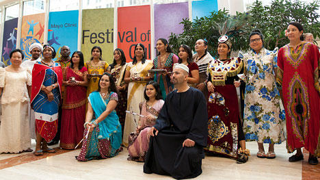 Participants in Mayo Clinic Festival of Cultures