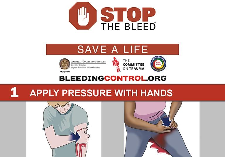 training civilians to use military hemorrhage control techniques
