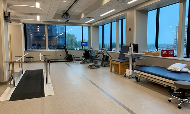New therapy gym