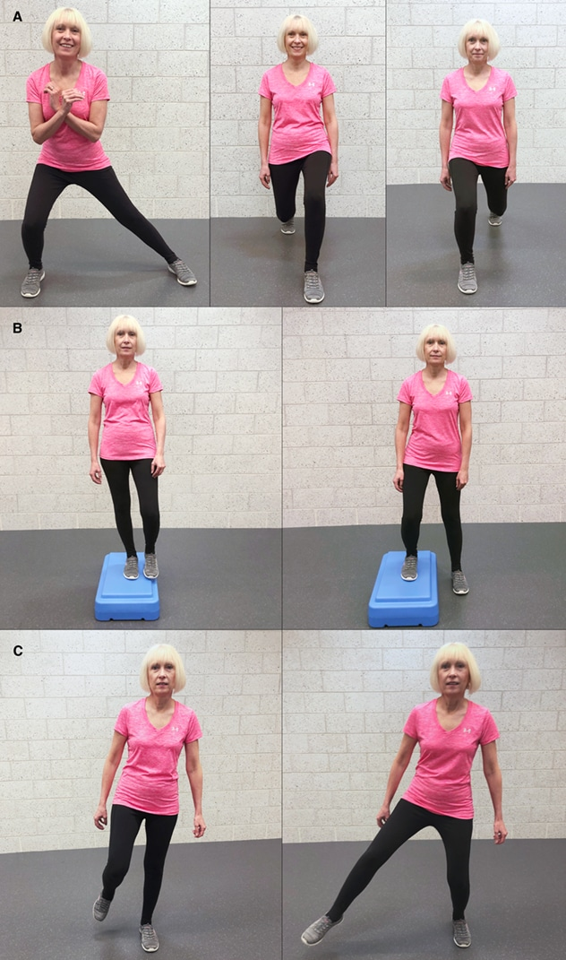 Three examples of multidirectional exercises