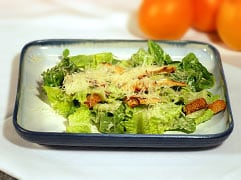 Caesar salad with grilled chicken - Mayo Clinic
