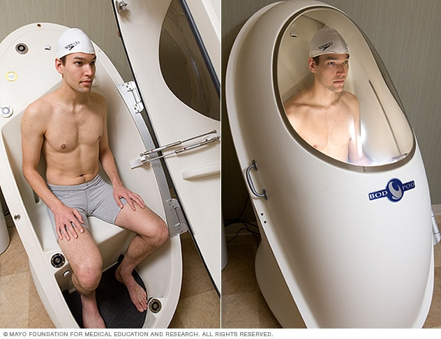 Photo of Bod Pod device