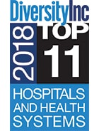 DiversityInc 2017 Top 12 Hospitals and Health Systems logo