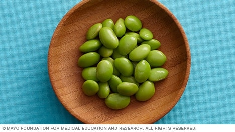 A high-fiber diet includes beans and legumes