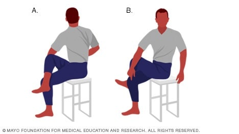 slide show back exercises in 15 minutes a day  mayo clinic