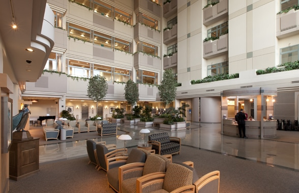 Mayo Clinic Hospital Atrium