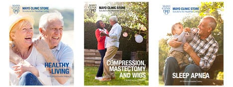 Pay your Mayo Clinic Store bill online. Mayo Clinic Store catalogs. Click the image above to view catalogs. Our convenient store locations and hours Mayo Clinic Store Rochester. Monday-Friday, 8 a.m p.m. Siebens Building Subway Level 2nd Ave. SW Rochester, MN ;.