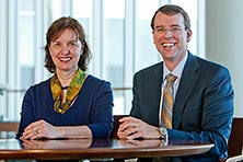 Drs. Lightner and Elliott are specialists in the Female Urology and Incontinence Clinic.