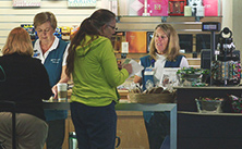 Photo of Mayo Clinic volunteer working in the gift shop