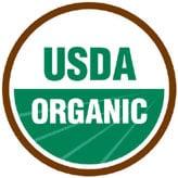 Sello orgánico del Departamento de Agricultura de los Estados Unidos (U.S. Department of Agriculture, USDA)