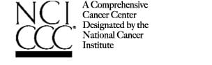 A Comprehensive Cancer Center Designated by the National Cancer Institute logo