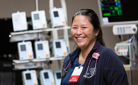 Photo of a Mayo Clinic nurse