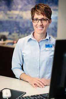 Photo of a Mayo Clinic clinical assistant