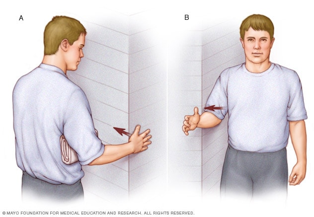 Rotator Cuff Exercises Mayo Clinic