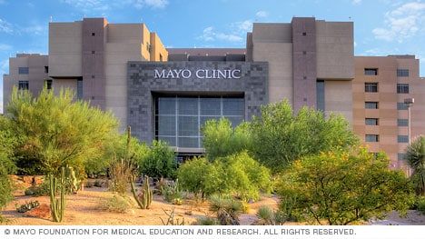 Building at Mayo Clinic, Phoenix/Scottsdale, Arizona