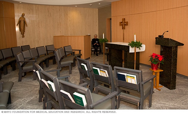 Spiritual and religious services - Mayo Clinic