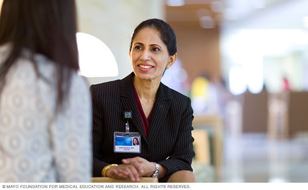 Pancreas transplant consultation at Mayo Clinic