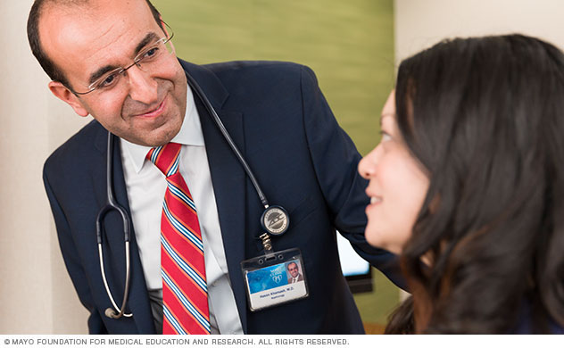 Kidney transplant evaluation at Mayo Clinic