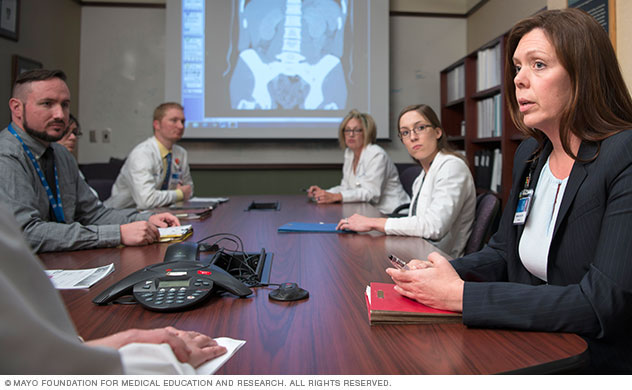 Living-donor transplant team at Mayo Clinic