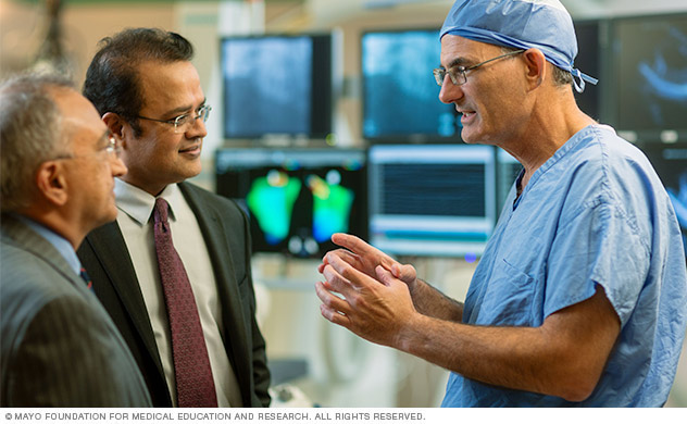 Ventricular tachycardia treatment at Mayo Clinic