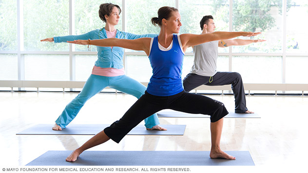 Your doctor may recommend yoga as a part of your treatment for an illness or disease.