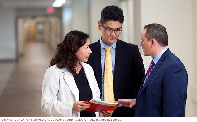 Mayo physicians collaborate on prostate cancer care