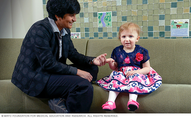 Pediatric cancer doctors provide special care for children with brain tumors.