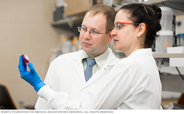 Doctors collaborate to advance the science of infectious diseases diagnosis and treatment.