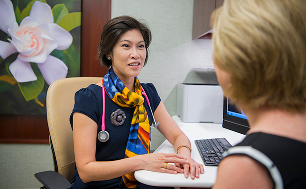A breast cancer consultation at Mayo Clinic