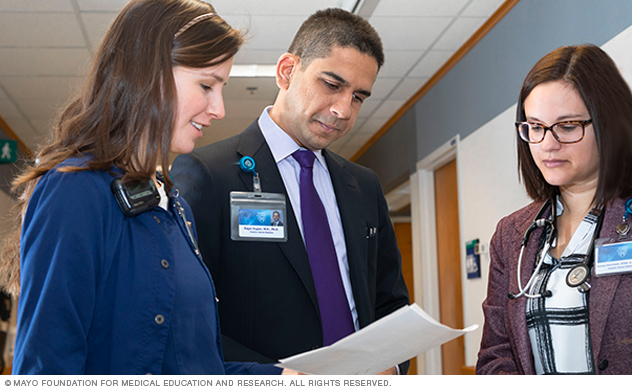 Patient care is based on team problem-solving and evidence-based practices.