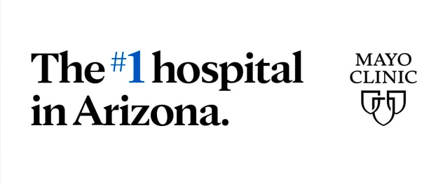 The #1 hospital in Arizona.