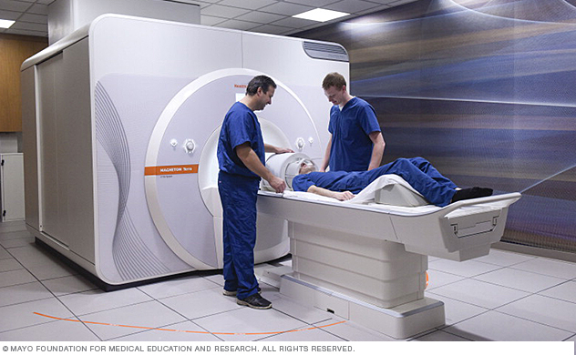 First patient to undergo testing with 7-tesla MRI scanner