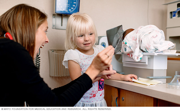 Child life specialists support to children and families during medical experiences.