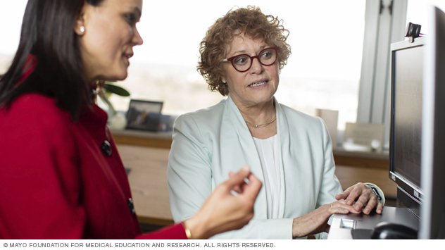 Doctors of the Mayo Clinic Menopause and Sexual Health Clinic collaborate