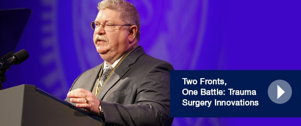 Two Fronts, One Battle: Trauma Surgery Innovations