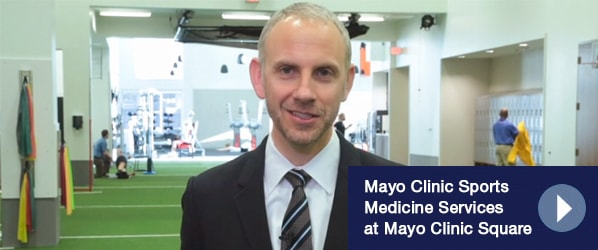 Mayo Clinic Sports Medicine Services at Mayo Clinic Square