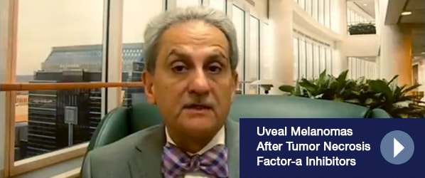 Uveal Melanomas After Tumor Necrosis Factor-a Inhibitors