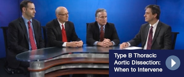 Type B Thoracic Aortic Dissection: When to Intervene