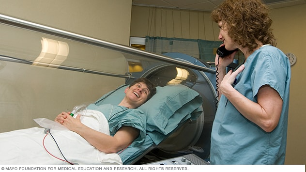 Image showing individual (monoplace) hyperbaric oxygen unit