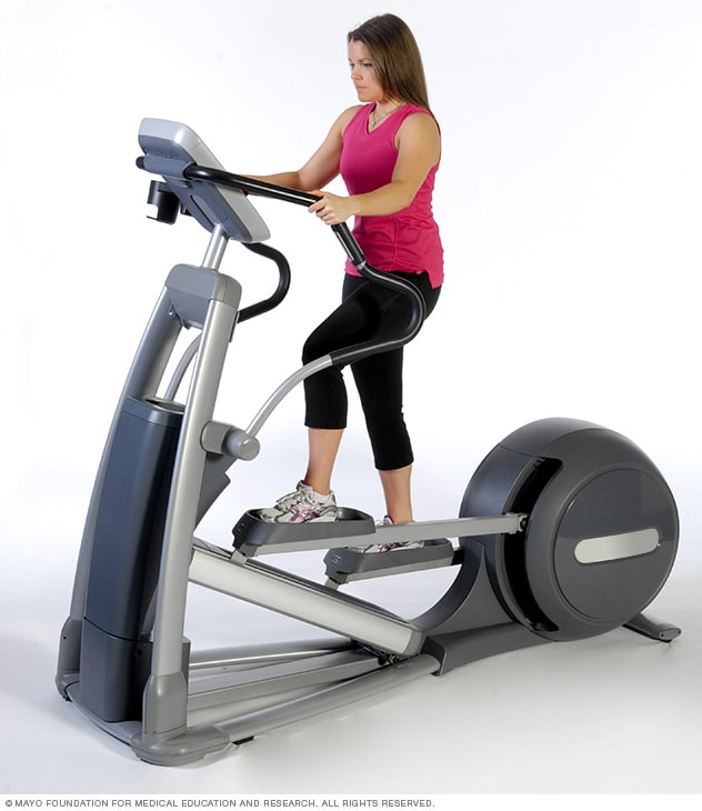 Photo of elliptical machine