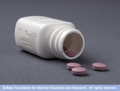 Photograph of bupropion