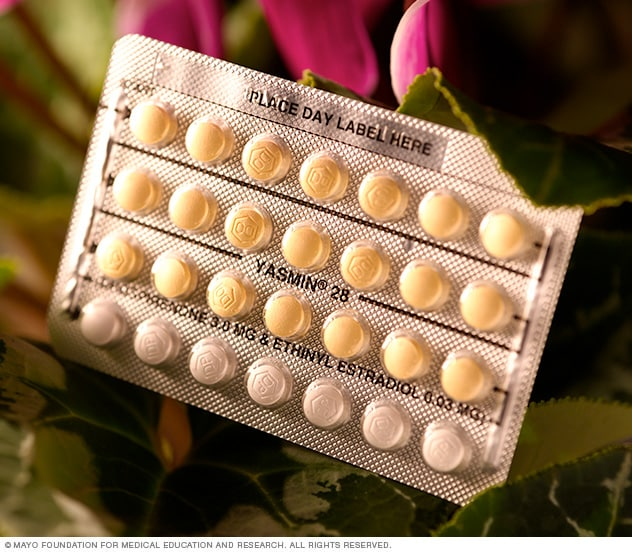 Photo of combination birth control pills