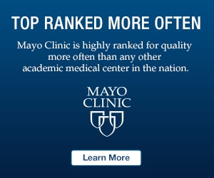 Top Ranked More Often, Mayo Clinic is highly ranked for quality more often than any other academic medical center in the nation.