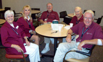 Picture of five Mayo Clinic volunteers