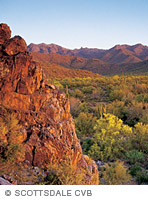 Photo of mountain landscape in Arizona.
