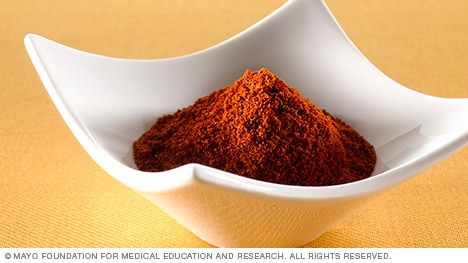 Photograph of paprika