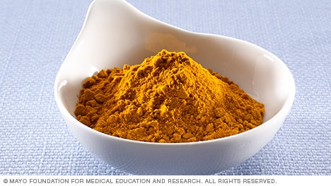 Photograph of ground turmeric