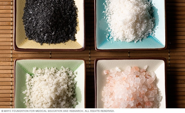 Photograph of sea salts