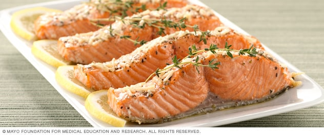 Photo of baked salmon