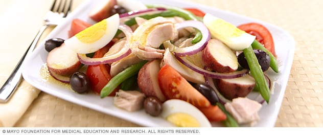 Photo of salade nicoise